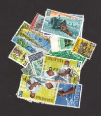 20 different Tanganyika (only) packet